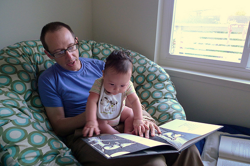 Reading With A Child Creates Lifetime Memories